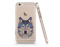 Wolf Clear Transparent Plastic Phone Case for iphone 6 6s_ SUPERTRAMPshop (VAS351) SUPERTRAMPshop