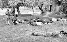 On June 2, 1941 a brutal massacre took place in the village of Kondomari, just west of the city of Hania. The Battle of Crete had just completed and the Al