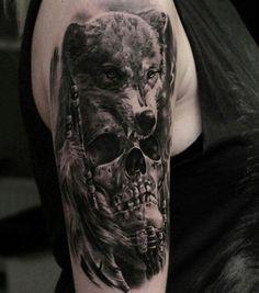 Skull&wolf