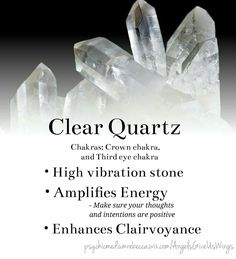 Clear Quartz crystal meaning