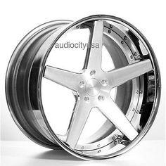 Set4 20 AC Forged Wheels Rims ACR405 Satin 3 piece
