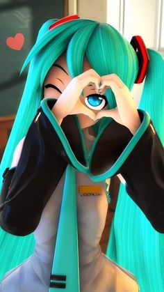 Vocaloid, Emo, Sound Waves, Blue Hair, Kawaii Anime, Cute Girls, Cool Photos, Singer, Cosplay