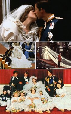 Wednesday, July 29, 1981: Lady Diana Frances Spencer marries Charles, Prince of Wales