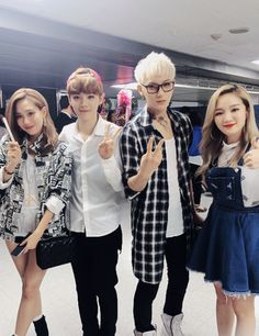 """Miss A's Jia and Fei show support to """"China line"""" EXO members."""