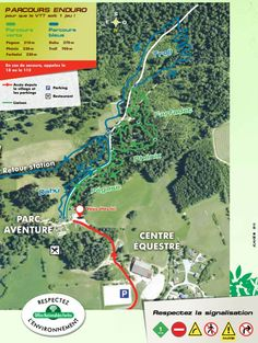 Plan parc enduro mythique de Métabief Le Parking, Map, How To Plan, Tourism, Location Map, Peta, Maps