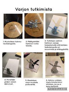 Oppilastöiden suunnittelu – Ajatuksia ja ideoita alakoulun kuvataiteeseen liittyen Crafts For Kids, Arts And Crafts, Teaching Art, Art School, Art Education, Art Lessons, Diy Bedroom Decor, Art Projects, Science