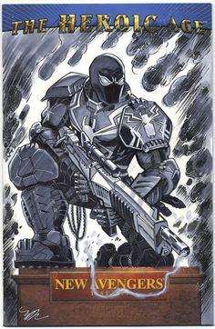 Agent Venom cover by MichaelDooney on @DeviantArt