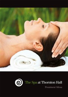 Spa Brochure cover for Thornton Hall Hotel