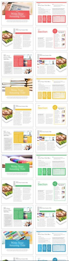 Incredible templates for iBooks Author! | iBooks and iBooks Author ...