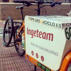 Rueda de repuesto Www.urbanciclo.es - Tw: @urbancicloalba- f: Urban Ciclo - Instagram: @urbanciclo #urbanciclo #ecomensajeria  #Albacete #cargobike #bicimensajeria #bikemessengers #bullitteer #bullitt #bullittlife #messlife #bikecourier #transportesostenible