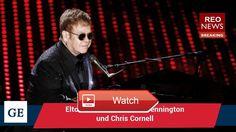 Elton John Ehrt Chester Bennington und Chris Cornell  GERMAN NEWS Sir Elton John hat die beiden verstorbenen Musiker Chester Bennington und Chris Cornell geehrt Subscrib