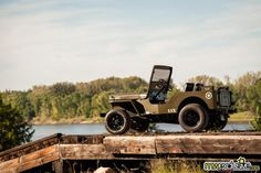No one would have imagined to drop an LS3 in a Willys Jeep—this guy did. And it's awesome.