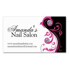 122 nail salon business card pink taupe nail technician business stylish nail salon business cards colourmoves