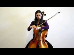 Olga Redkina: Online Cello Lessons - 6 - How to Hold a Cello Bow.