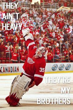 Jimmy Howard, Detroit Red Wings goalie