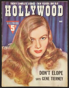 Hollywood Magazine (Fawcett Publications, Magazine (Multiple Pages, X Miscellaneous. - Available at Sunday Internet Movie Poster. Star Magazine, Movie Magazine, Hollywood Magazine, Old Hollywood, Vintage Movie Stars, Vintage Movies, Veronica Lake, Newspaper Headlines, Internet Movies