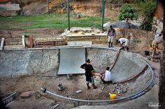 Backyard Skatepark, Skate Park, Civil Engineering, Bmx, Skating, Banks, Exterior, Outdoor Decor, Cement