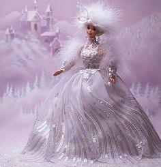 1994 Snow Princess Barbie by StanleytheBarbieman, via Flickr