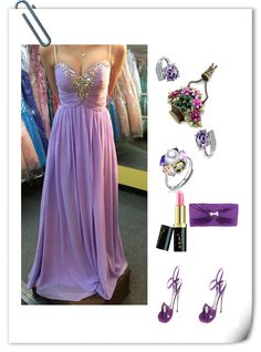 sweetheart prom dresses,Lilac A-line Spaghetti Straps Floor-length Chiffon Evening Dress Prom Dresses 9994
