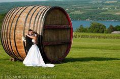 Wedding Picture at Glenora Wine Cellars, Finger Lakes, Seneca Lake, Dundee New York, www.glenora.com - 800-243-5513