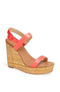 Just found a pretty wedge sandal for summer!