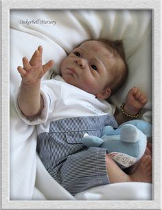 Tinkerbell Nursery Reborn Baby Doll Helen Jalland