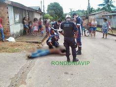 R12 Noticias: Imagem forte: Homem é executado com tiro de esping...