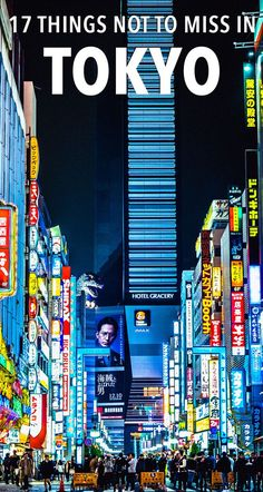 Wondering what to do in this incredible Japanese city? Here are 17 cool things to do in Tokyo!