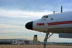 """The """"Star of America"""" Lockheed Constellation 1049 Super G is located at the National Airline Museum at the Wheeler Downtown Airport in Kansas City, Missouri."""