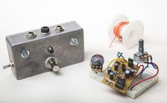 Effect Pedal Building - Two Pedals at Chicago School of Guitar Making #diypedals #effectpedals #guitars