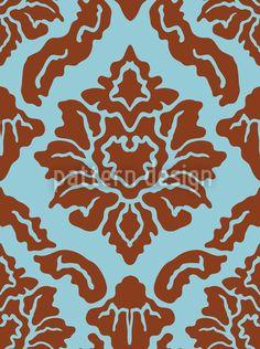 Pop Baroque designed by Viktoryia Yakubouskaya, vector download available on patterndesigns.com Baroque Design, Surface Pattern Design, Vector Pattern, Vector File, Patterns, Pattern Designs, Damask, Animal Print Rug, Pop