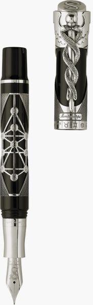 Mysticum Cagliostro Fountain Pen, Silver