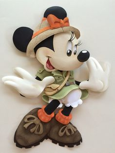 Minnie Mouse Paper Sculpture on Behance