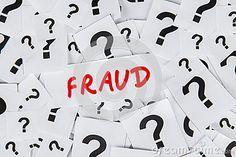 Concepto de la definición del fraude. Fraud.