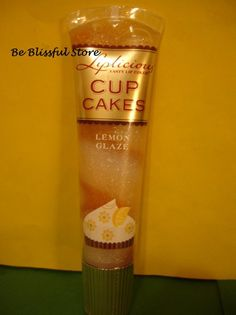 Bath & Body Works Lemon Glaze Cup Cakes Lip Gloss Lipgloss