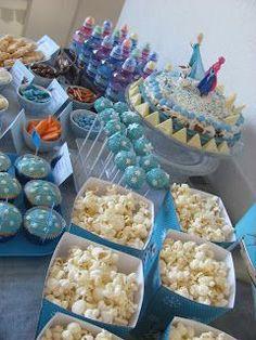 Hallo meine Lieben!     Diese Woche verwandelte sich unser Haus in einen Eispalast, mit der langersehnten Eiskönigin-Party feierte meine To...