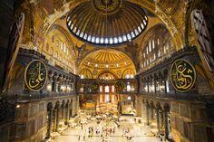 Hagia Sophia (St. Sophia), Istanbul, Turkey.