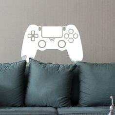 Adesivo de parede Controle PS4