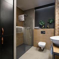 Lirowa industrialna kuchnia od kodo projekty i realizacje wnętrz industrialny   homify Toilet, Bathroom, Washroom, Flush Toilet, Full Bath, Toilets, Bath, Bathrooms, Toilet Room