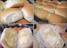 Pãozinho de Leite Fofíssimo! Coloque no liquidificador (adoooro): 250 ml de leite morno, se colocar quente estraga o pão, tem que ser uma temperatura que você coloque o dedo e não sinta nenhum desconforto (usei semidesnatado); 2 ovos; 2 colheres (sopa) de açúcar; 1/2 colher (sopa) de sal; 5 gramas, ou ½ pacotinho de fermento biológico seco granulado; 40ml de óleo de soja; 1 colher rasa (sopa) de margarina (usei light).