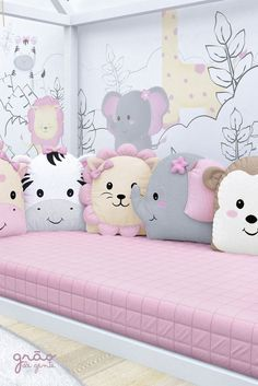 48 Ideas sewing baby nursery kids for 2019 Baby Crib Bedding, Quilt Baby, Baby Bedroom, Baby Room Decor, Baby Cribs, Girls Bedroom, Nursery Decor, Cute Pillows, Baby Pillows