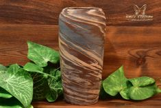 Niloak Style Mission Swirl Hand Thrown Vase - The Kings Fortune Vase Shapes, Light Reflection, Swirl Design, Earth Tones, Pottery Art, 1920s, Restoration, Arts And Crafts, Ceramics