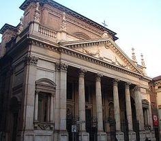 Neoclassica della chiesa di San Filippo Neri