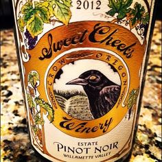 Nittany Epicurean: 2012 Sweet Cheeks Estate Pinot Noir