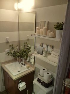 Small Bathroom Remodel by earnestine | Ideas for the House ...