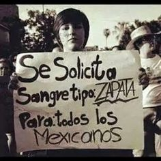 Zapata vive,la lucha sigue !!!