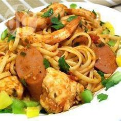 Jambalaya Linguine @ allrecipes.co.uk