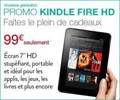 Amazon : baisse de tarif sur la tablette Kindle Fire HD 7 pouces 16 Go qui passe de 199 à 99 euros avec une livraison offerte | Maxi Bons Plans