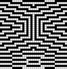 "Photo from album ""Филейные схемы"" on Yandex. Bead Loom Patterns, Mosaic Patterns, Beading Patterns, Cross Stitch Patterns, Quilt Patterns, Knitting Charts, Knitting Stitches, Knitting Patterns, Crochet Patterns"