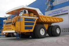 Belaz 75710. Le plus gros camion du monde